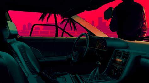 Miami Vice Car Wallpaper [1920x1080] (x-post R/wallpaper