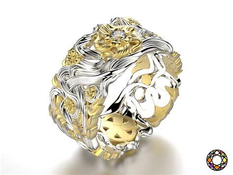 fashion wedding ring 0118 3d 3d printable obj fbx ma mb stl cgtrader com