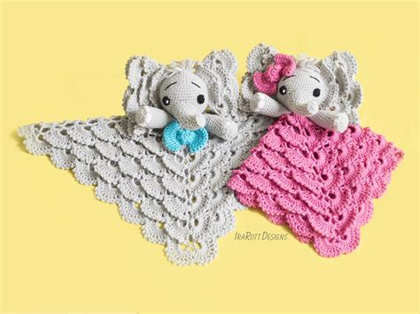 Josefina And Jeffery Elephant Security Blanket Pdf Crochet Pattern Blankets On Babies Beach Blanket Babilon Scottish Cashmere Kingdom Hearts Throw Wool Double Sided Minky Space Bulk Navy