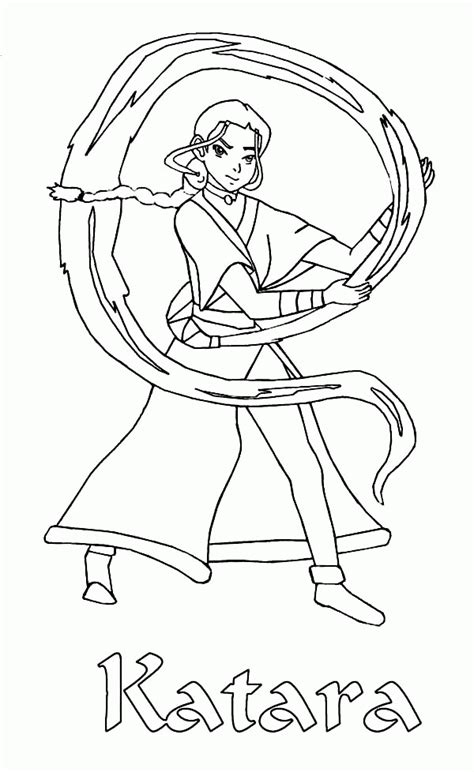 Avatar The Coloring Pages Coloring Home Bender Coloring Page Coloring Home
