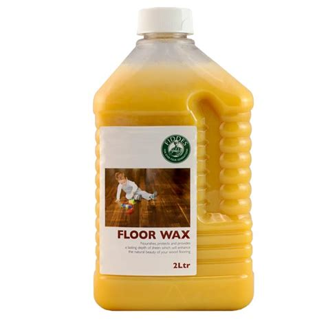 Fiddes Floor Wax  Liquid Wax Floor Polish For Wooden Floors