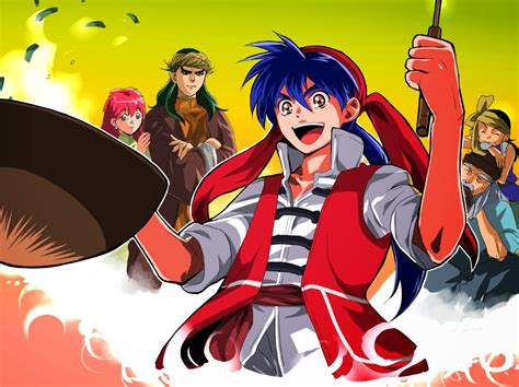 judul anime genre action terbaik cooking master boy complete 1 52 subtitle indonesia