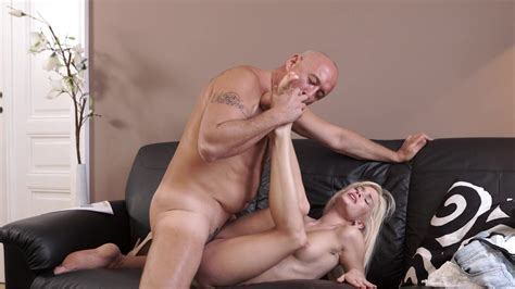 Young Blonde Leads Daddy To Insane Hardcore Sex Xbabe Video