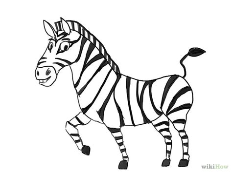 draw  zebra  pictures wikihow clip art
