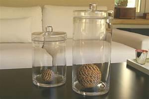 Pot En Verre Deco : la bonbonni re en verre une touche mignon pour votre ~ Melissatoandfro.com Idées de Décoration