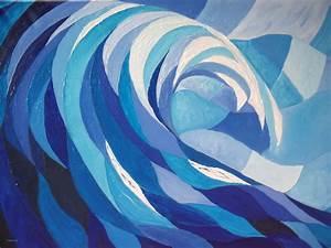 elegant peinture mur bleu canard avec art tableau With nuances de bleu peinture