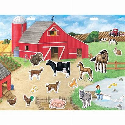 Farm Scene Magnetic Create Scenes Play Playmonster