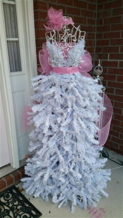 pink white holiday dress christmas tree pictures