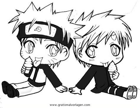 Naruto Gaara 7 Gratis Malvorlage In Comic