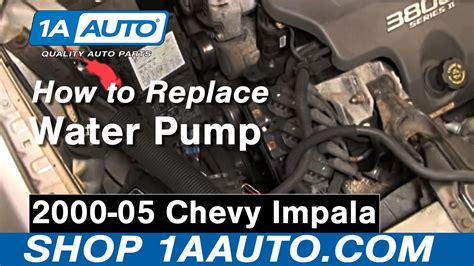 How Replace Engine Water Pump Chevy Impala Auto