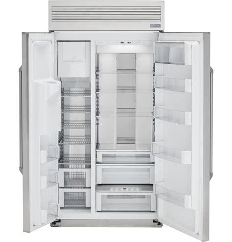 zispdkss monogram  smart built  professional side  side refrigerator  dispenser