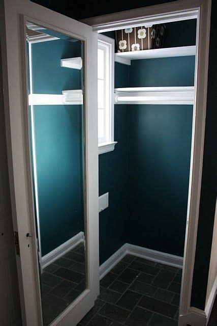 paint colors for closets paint the coat closet and put a mirror on the inside like
