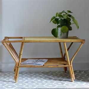 Table Basse Rotin : lignedebrocante brocante en ligne chine pour vous meubles vintage et industriels objets ~ Teatrodelosmanantiales.com Idées de Décoration