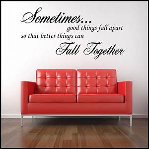 wall decals quotes quotesgram With wall saying decals