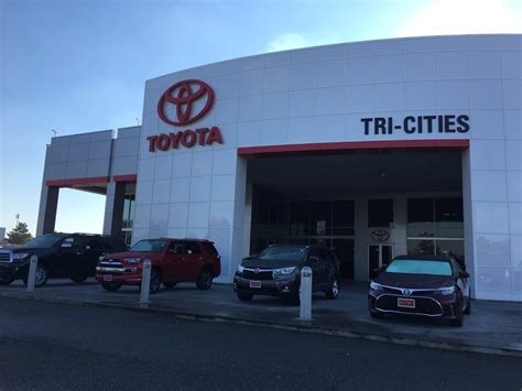 Cities Toyota Dealers toyota of tri cities 14 photos car dealers 6321 w