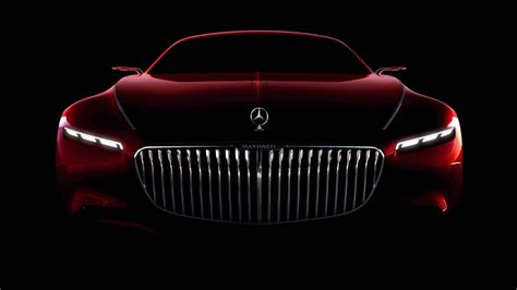 Mercedes Maybach Coupe Concept 5K Wallpaper