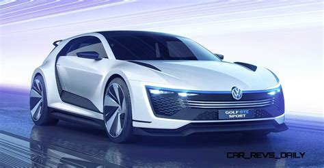 2018 Vw Golf Gte Sport Concept