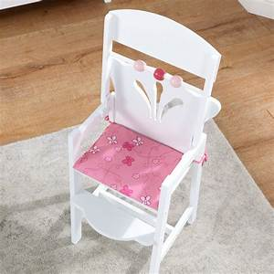 KidKraft Chaise Haute Petite Poupe 61101