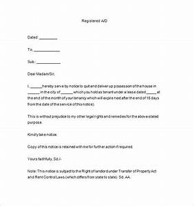 end tenancy letter template 10 lease termination letter With end of tenancy letter template from landlord