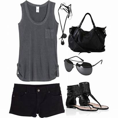 Summer Outfits Tough Casual Shorts Outfit Polyvore