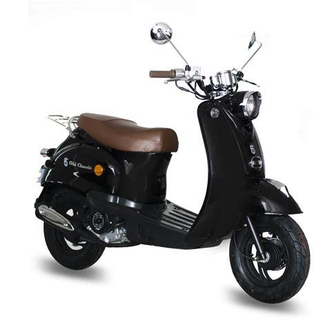 motorroller 25 km h gmx 460 retro classic motorroller 25 km h schwarz 4