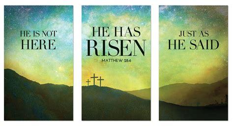 risen matt  banner church banners outreach