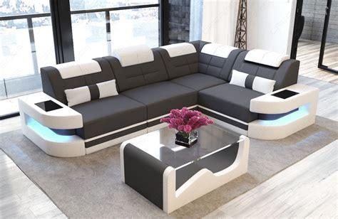 Luxury Fabric Sofa L Shape  Microfiber Lightgrey Mineva 8