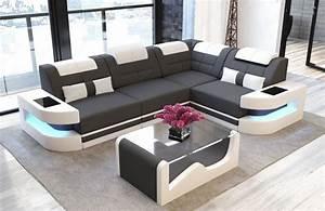 L Couch Grau : luxury fabric sofa l shape microfiber light grey mineva 8 ~ Orissabook.com Haus und Dekorationen