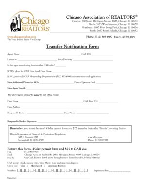 fillable  transfer notification form chicago