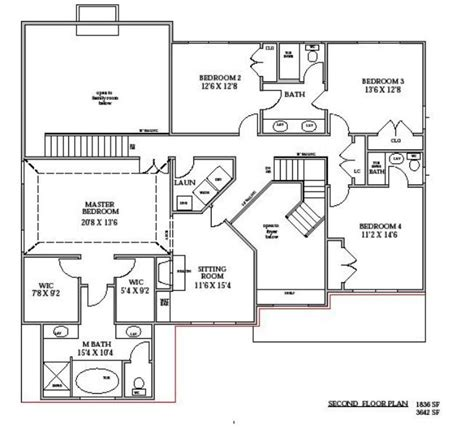 two story floor plan home ideas