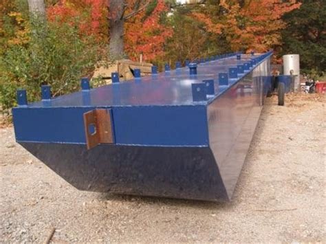 Pontoon Boats For Sale Eastern Ontario by Steel Pontoons Square Steel Pontoons 2017 New Boat For