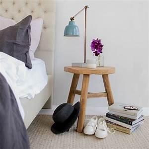 Table De Chevet Bois Brut : d co chambre cocooning textures et autres astuces pour la r ussir ~ Melissatoandfro.com Idées de Décoration