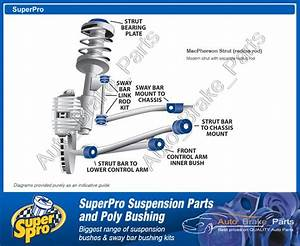 Superpro Front End Suspension Kit For Holden Commodore Vt