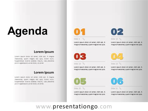 agenda template  powerpoint  google