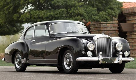 bentley  type continental fastback sports saloon