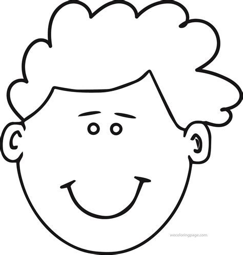 face coloring pages wecoloringpagecom