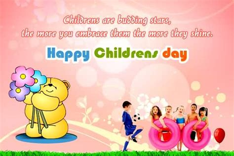 beautiful happy childrens day greeting cards  images
