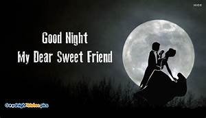Good Night Images for Sweet Friend
