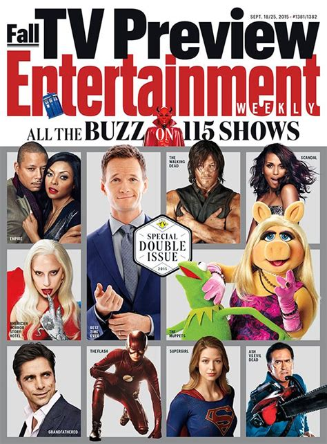 This Week's Cover All The Buzz On 115 Shows In Ew's Fall