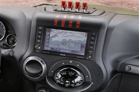jeep chief concept interior seven jeep concepts unveiled for the 2016 easter jeep