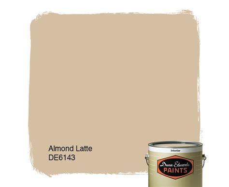 dunn edwards paints paint color almond latte de6143
