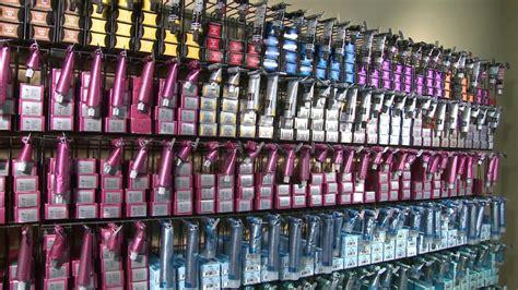 Hair Color Shelf by Ez Rack Usa