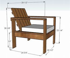 Ana White Simple Outdoor Lounge Chair - DIY Projects