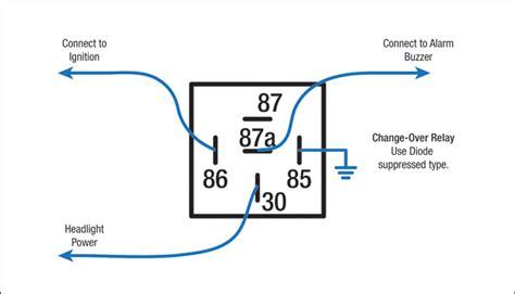 12v changeover relay wiring diagram 35 wiring diagram