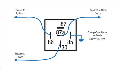 wire  simple headlight alarm redarc electronics