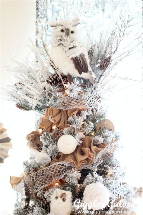ideas  owl christmas tree  pinterest owl