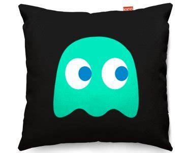 kico pac man xcm funky sofa cushion retro blue