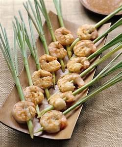 BROCHETAS DE GAMBAS Y CITRONELA (lemongrass shrimp skewers ...
