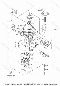 Yamaha Side By Side 2009 Oem Parts Diagram For Carburetor
