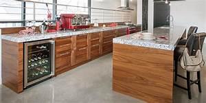 charmant creer un bar dans une cuisine 11 cuisine noyer With creer un bar dans une cuisine